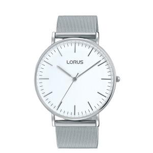 371cb0b790f1e3 Elegancki zegarek męski Lorus RH881BX8 stalowa bransoleta meshowa