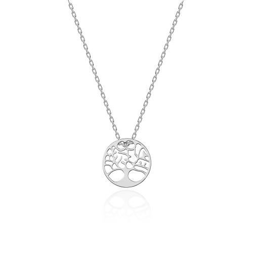 4932d00df051 Naszyjnik srebrny celebrytka Virino drzewko szczęścia N353-925-S MARKO