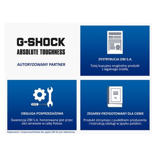 61425d0090d171 Sportowy zegarek męski Casio G-Shock GST-B100D-1AER MARKO. AUTORYZOWANY  PARTNER G-SHOCK